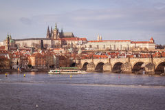 Prague in december Royalty Free Stock Images