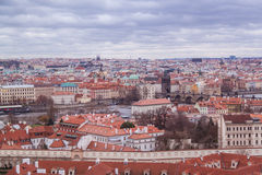 Prague in december Stock Photography