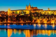 Prague den tjeckiska republiken Arkivbilder