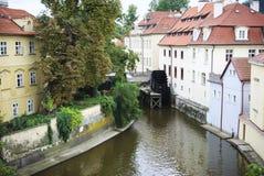 Prague. The Devil's Stream Stock Image