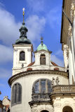 Prague. Dome of the old church Royalty Free Stock Photos