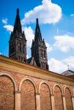 Prague domkyrka Royaltyfri Fotografi