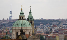 Prague domkyrka Fotografering för Bildbyråer