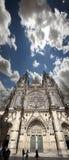 Prague - domkyrka för St. Vitus Fotografering för Bildbyråer