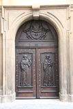 Prague door Royalty Free Stock Photo