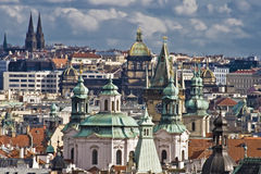 Prague downtown Royalty Free Stock Photos