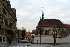Prague est une ville et le capital de la République Tchèque est un centre culturel européen traditionnel Vues de la ville Photographie stock