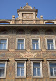 Prague - facade of old town house Royalty Free Stock Photography