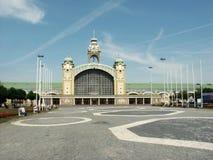 Prague fair palace Stock Images