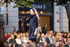 Prague Fashion Weekend on September 24, 2011 in Pr Stock Image