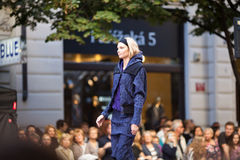 Prague Fashion Weekend on September 24, 2011 in Pr Stock Photography