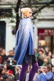 Prague Fashion Weekend on September 24, 2011 in Pr Royalty Free Stock Image