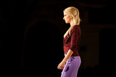 Prague Fashion Weekend on September 24, 2011 in Pr Royalty Free Stock Image