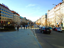 Prague full of people and tourists Royalty Free Stock Images