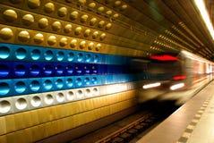 Prague gångtunnel Royaltyfri Fotografi