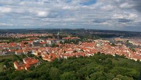 Prague - gammal stad Fotografering för Bildbyråer