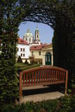 Prague gardens Royalty Free Stock Image