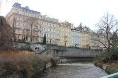 Prague gata Royaltyfria Bilder