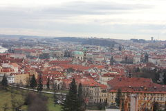 Prague gata Royaltyfria Foton