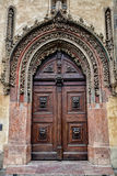 Prague, gate in baroque style Stock Photography