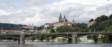 Prague, General view. Photo of general view Prague royalty free stock images