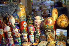 Prague gift shop Stock Photos