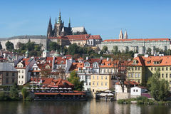 Prague gothic Castle Royalty Free Stock Photos