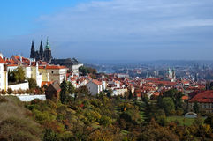 Prague Hail Royalty Free Stock Photography