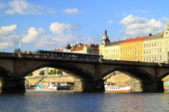 Prague has many opportunities for everyone Royalty Free Stock Images