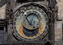 Prague - Historic Astronomical clock Royalty Free Stock Photo