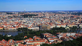 Prague historic centre Stock Image