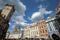 Prague - historic square Stock Photography