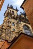Prague historique photographie stock libre de droits