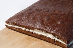 Prague home cake Stock Photo