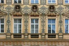 Prague house Royalty Free Stock Photo