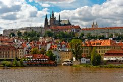 Prague Hradcany Royalty Free Stock Photos