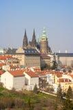 Prague hradcany castle Royalty Free Stock Photos