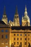 Prague - hradcany castle Stock Image
