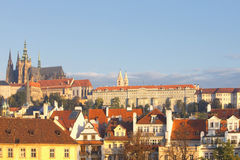 Prague - hradcany castle Royalty Free Stock Photo