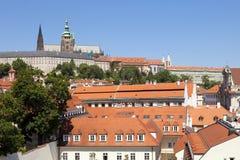 Prague, hradcany castle Stock Image