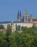 Prague - hradcany castle Stock Images