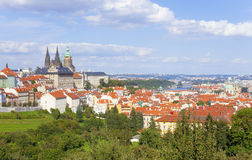 Prague - Hradcany Castle and St. Vitus Cathedral Stock Image