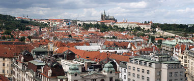 Prague - Hradcany panorama Stock Photos