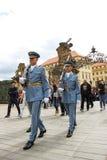 Prague hradni straz 06 Royalty Free Stock Photo