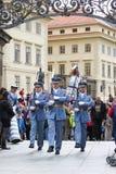 Prague hradni straz 05 Royalty Free Stock Photo