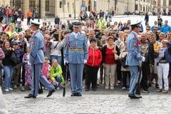 Prague hradni straz 03 Stock Photo
