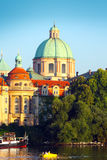 Prague huvudstad av Tjeckien Royaltyfri Fotografi
