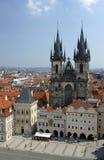 Prague i den tjeckiska republiken Royaltyfri Fotografi
