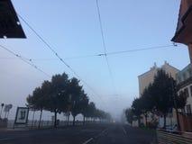 Prague i morgonen Royaltyfria Bilder