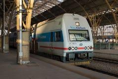 Prague järnvägsstation royaltyfria foton